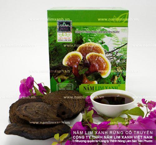 Giá nấm lim xanh của Công ty TNHH Nông lâm sản Tiên Phước được niêm yết trên cả nước