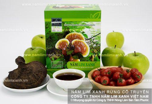Cách dùng nấm lim xanh tốt nhất là sắc nấm lim xanh Quảng Nam