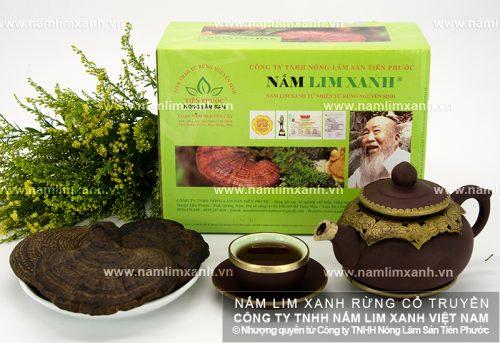 Tác dụng nấm lim xanh của Công ty TNHH Nông lâm sản Tiên Phước chữa bệnh rất tốt