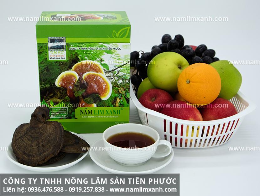 Nấm lim xanh của Lào và tác dụng của nấm lim Lào với công dụng nấm lim
