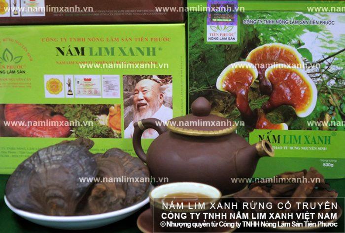 Giá nấm lim xanh loại tốt, thái lát của Công ty TNHH Nông lâm sản Tiên Phước.