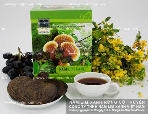 Sản phẩm nấm lim xanh của Công ty TNHH Nông lâm sản Tiên Phước được nhiều người tin tưởng và sử dụng