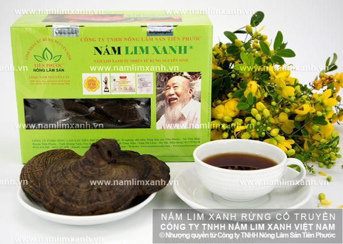 Giá nấm lim xanh Tiên Phước niêm yết cố định trên thị trường.