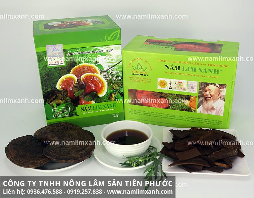 Nấm lim xanh rừng Lào và hình ảnh nấm lim xanh rừng Lào mọc ở tự nhiên