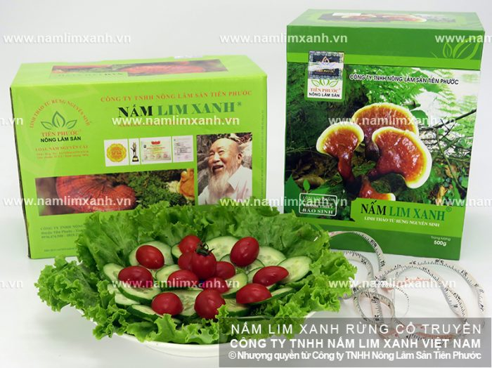Nấm lim xanh chế biến theo phương pháp gia truyền có dược tính cao.