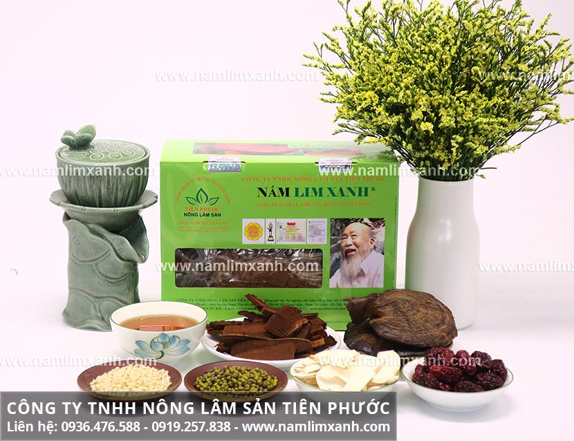 Nơi mua nấm lim xanh ở Hà Nội và địa chỉ bán nấm lim xanh rừng uy tín