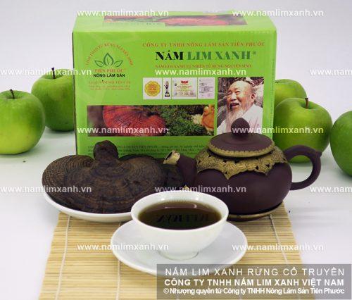 Nấm lim xanh của Công ty TNHH Nông lâm sản Tiên Phước đảm bảo về mặt chất lượng