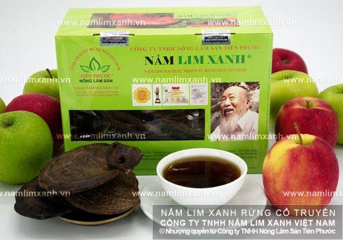 Nấm lim xanh rừng tự nhiên của Công ty Tiên Phước có chất lượng rất tốt