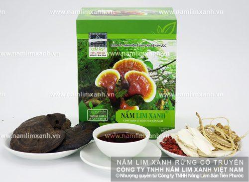 Nấm lim xanh Quảng Nam của Công ty Nông lâm sản Tiên Phước được nhiều người tin dùng