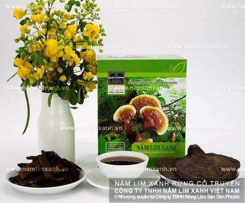 Nấm lim xanh rừng Quảng Nam của Công ty Tiên Phước