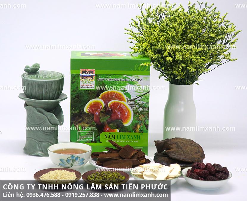 Trà nấm lim xanh tốt không và cách uống nấm lim xanh pha trà đúng