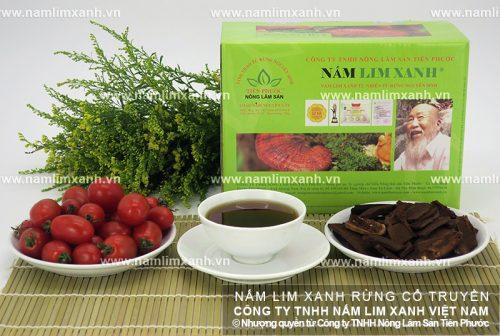 Nấm lim xanh của Công ty TNHH Nông lâm sản Tiên Phước chất lượng cao