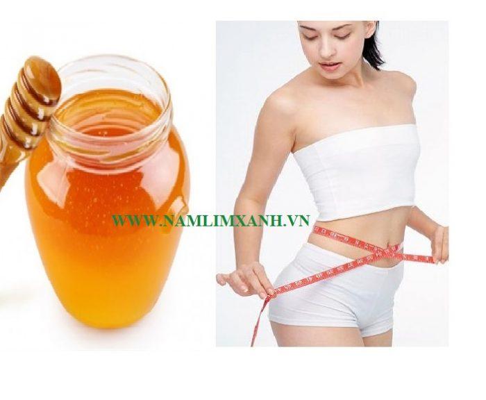 Nước uống giảm cân bằng mật ong