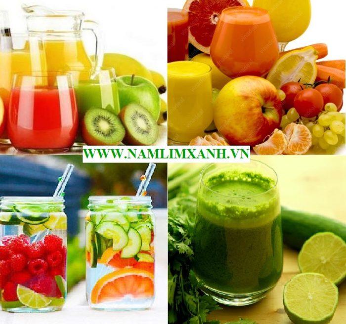 Nước uống giảm cân nhanh và cách làm các loại nước uống giảm cân nhanh detox tại nhà rất dễ làm