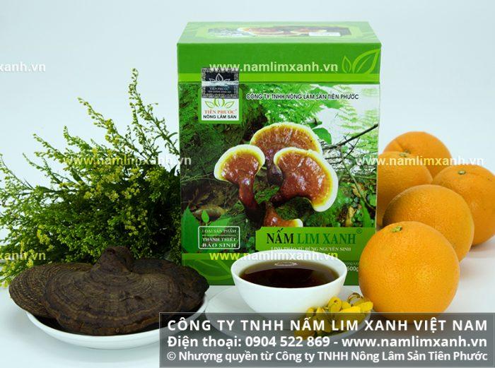 Giá nấm lim xanh rừng bao nhiêu tiền 1kg đúng nấm lim xanh Tiên Phước.
