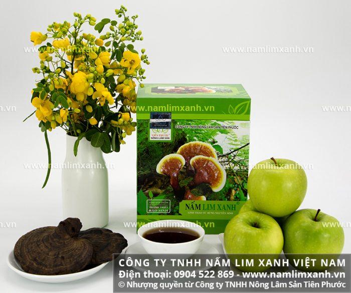 Liều lượng dùng nấm lim xanh rừng và cách uống nấm gỗ lim xanh