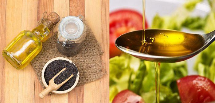 Cách dùng dầu mè