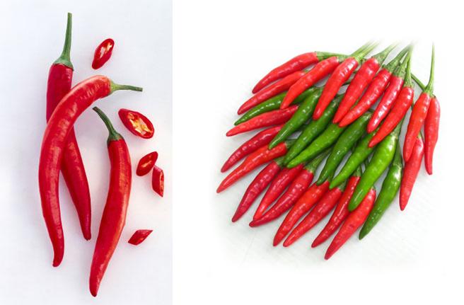 Tác dụng của quả ớt