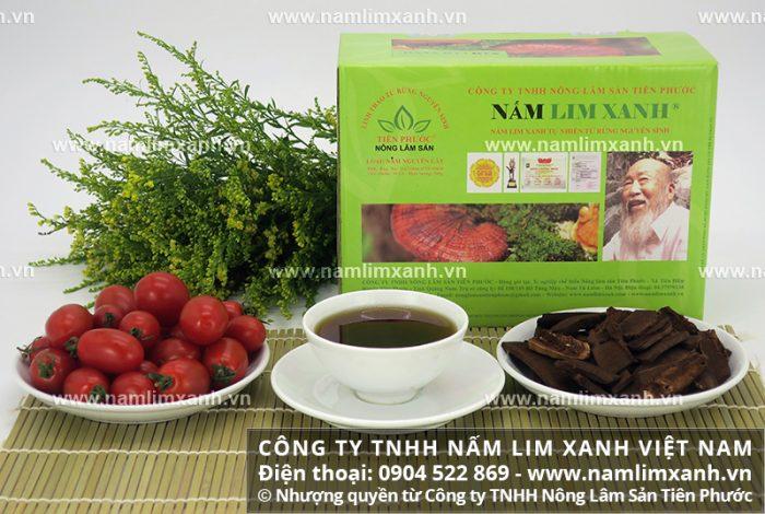 Công dụng của nấm lim xanh Quảng Nam