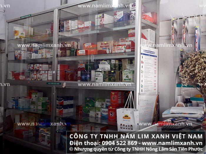 Đại lý ủy quyền bán nấm lim xanh của công ty tại tỉnh An Giang