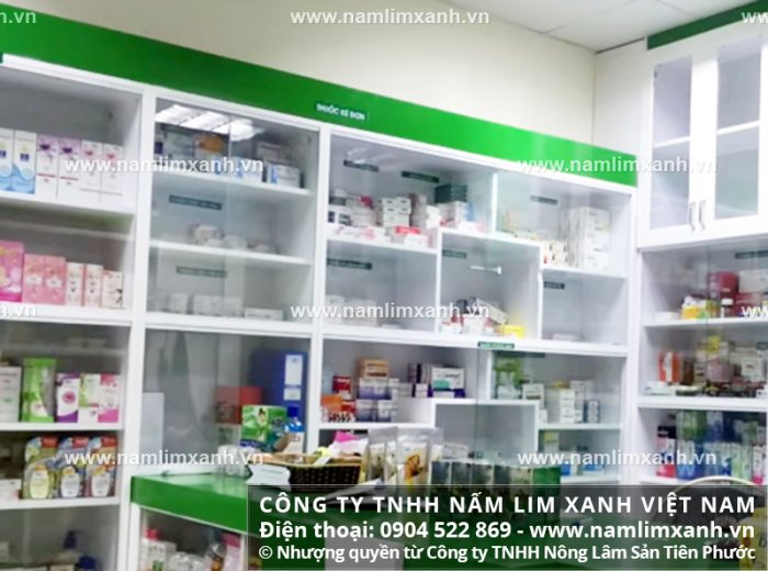 Đại lý ủy quyền bán nấm lim xanh của công ty tại tỉnh Bạc Liêu