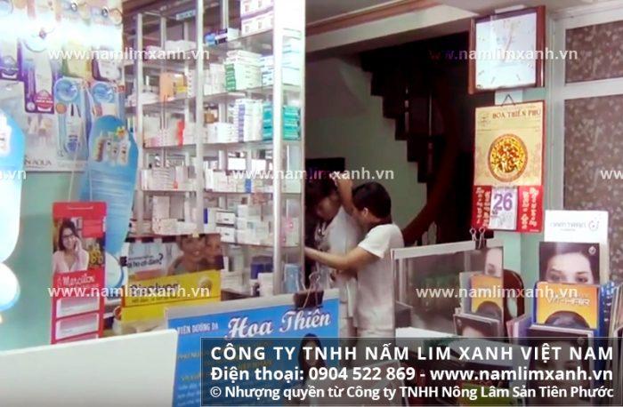 Đại lý ủy quyền bán nấm lim xanh của công ty tại tỉnh Cà Mau