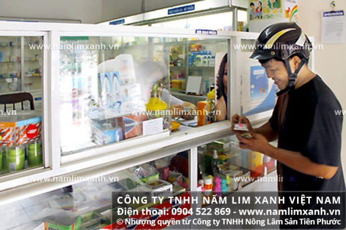 Đại lý ủy quyền bán nấm lim xanh của công ty tại tỉnh Đồng Tháp