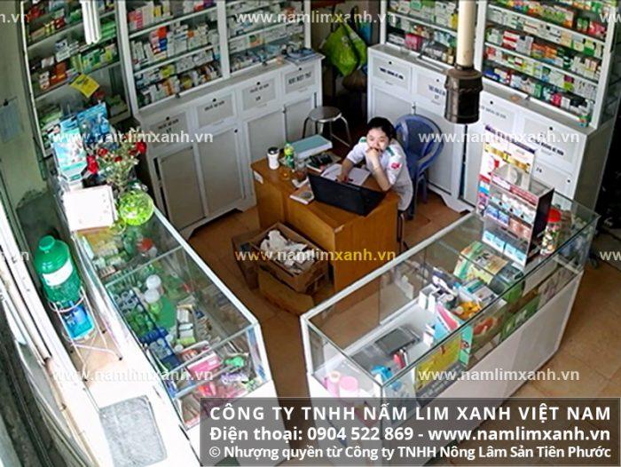 Đại lý ủy quyền bán nấm lim xanh của công ty tại tỉnh Kiên Giang