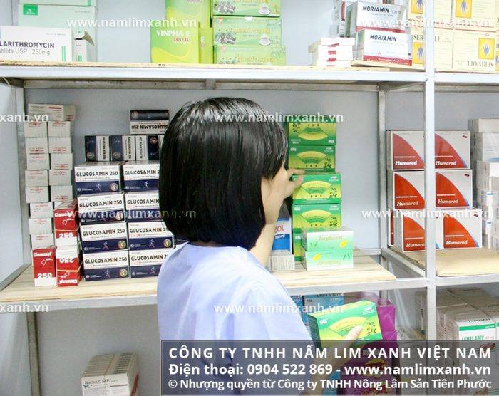 Đại lý ủy quyền bán nấm lim xanh của công ty tại tỉnh Long An