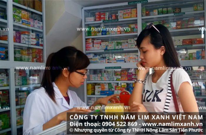 Đại lý ủy quyền bán nấm lim xanh của công ty tại tỉnh Phú Thọ