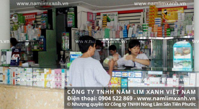 Đại lý ủy quyền bán nấm lim xanh của công ty tại tỉnh Sóc Trăng