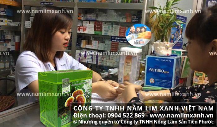 Đại lý ủy quyền bán nấm lim xanh của công ty tại TPHCM