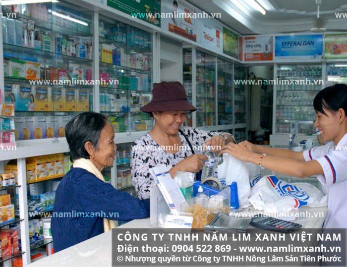 Đại lý ủy quyền bán nấm lim xanh của công ty tại Vĩnh Long