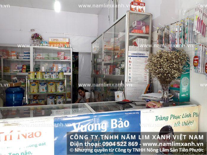 Địa chỉ bán nấm lim xanh rừng tự nhiên của Công ty TNHH Nấm lim xanh Việt Nam tại Quảng Bình