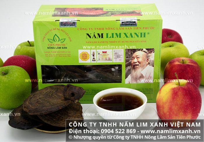 Giá bán nấm lim xanh luôn được niêm yết bởi Công ty TNHH Nấm lim xanh Việt Nam