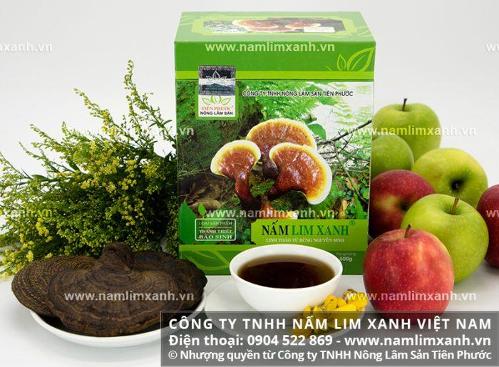 Nấm lim rừng được phân phối bởi Công ty TNHH Nấm lim xanh Việt Nam