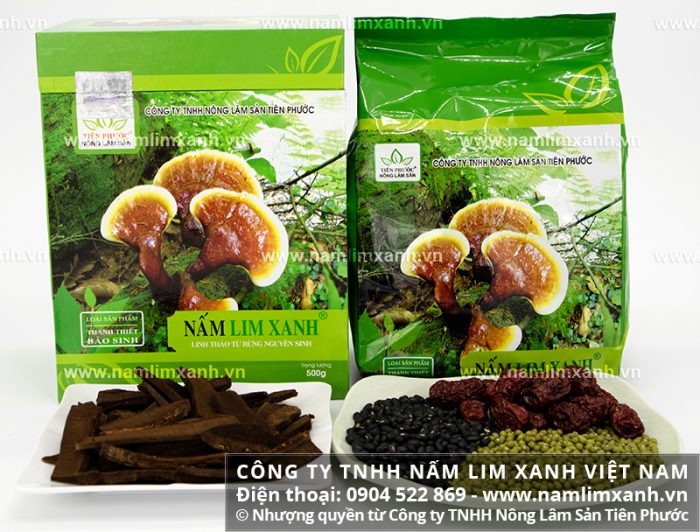 Nấm lim xanh của Công ty TNHH Nấm lim xanh Việt Nam