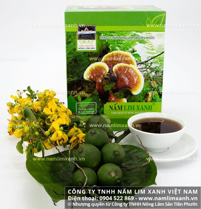 Sản phẩm Công ty TNHH Nấm lim xanh Việt Nam