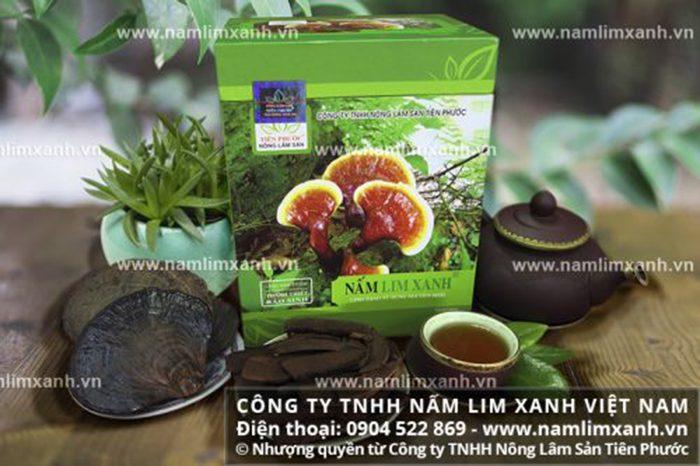 Sản phẩm nấm cây lim chuẩn của Công ty TNHH Nấm lim xanh Việt Nam