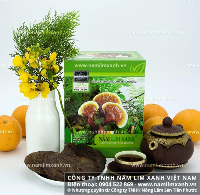 Sản phẩm nấm lim xanh chất lượng của Công ty TNHH Nấm lim xanh Việt Nam