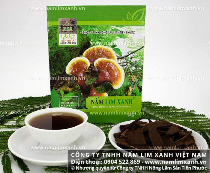 Sản phẩm nấm lim xanh của Công ty TNHH Nấm lim xanh Việt Nam