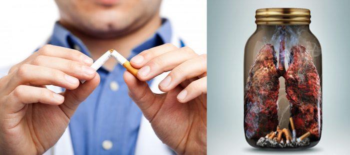 Nói không với việc sử dụng thuốc lá