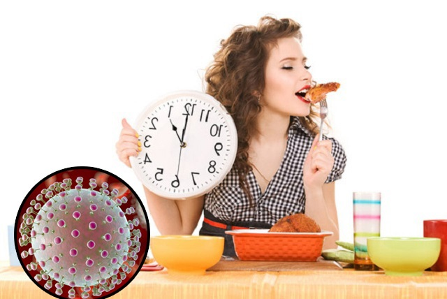 Chế độ ăn uống khoa học phòng ngừa virus