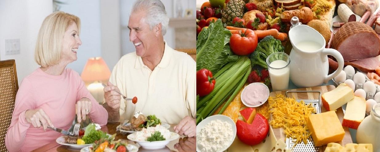 Bổ sung đầy đủ chất dinh dưỡng giúp tăng cường sức đề kháng cho người già