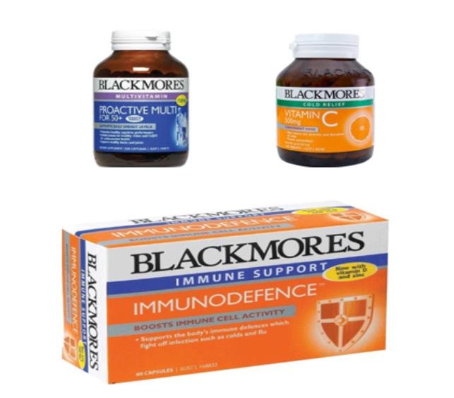 Một số loại Vitamin Blackmores giúp cơ thể tăng sức đề kháng