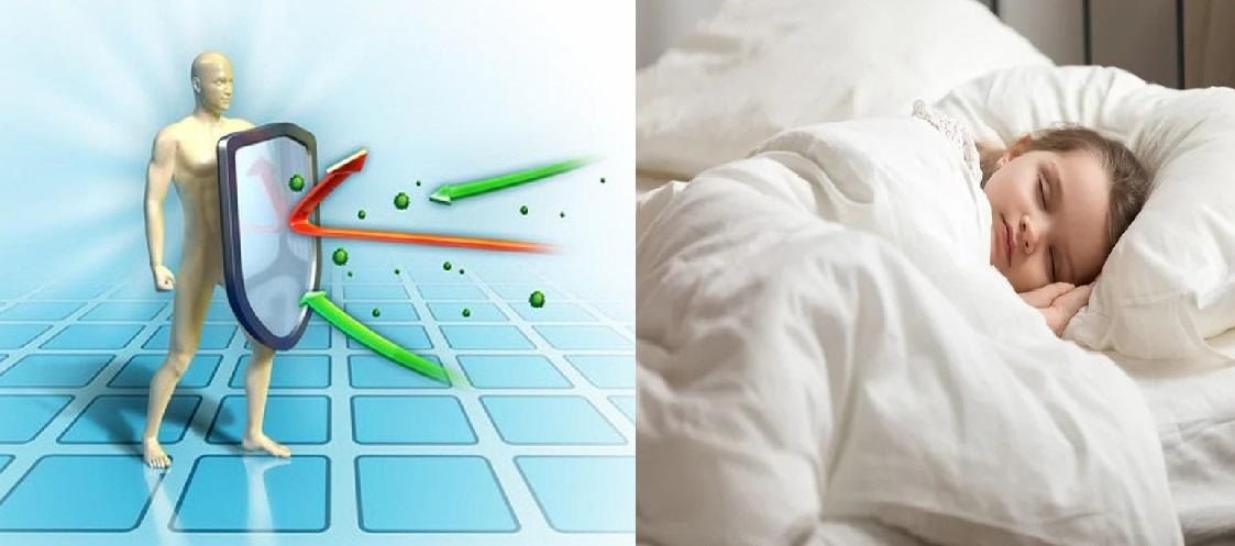 Ngủ đủ giấc giúp tăng miễn dịch tự nhiên cho cơ thể