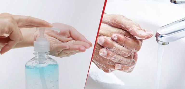 Rửa tay thường xuyên giúp diệt trừ virus