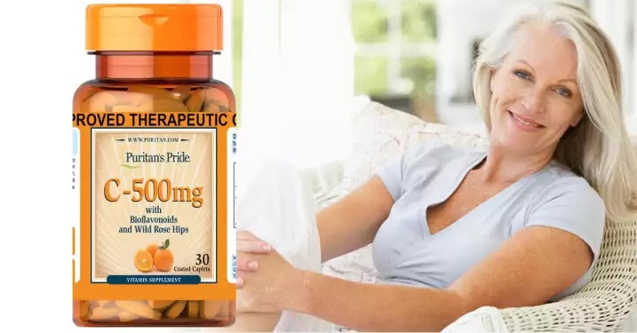 Viên uống bổ sung Vitamin C 500mg with Bioflavonoids & Rose Hips