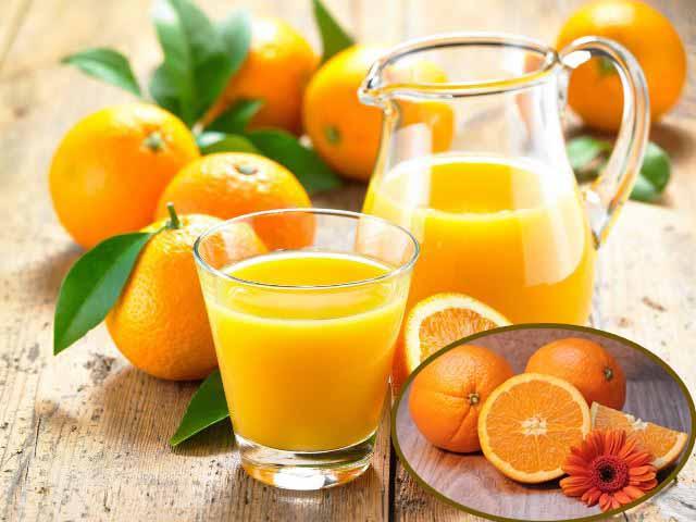 Nên tận dụng Vitamin C sẵn có trong hoa quả và rau xanh