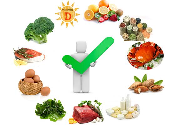 Có chế độ ăn đầy đủ chất dinh dưỡng giúp tăng cường hệ miễn dịch